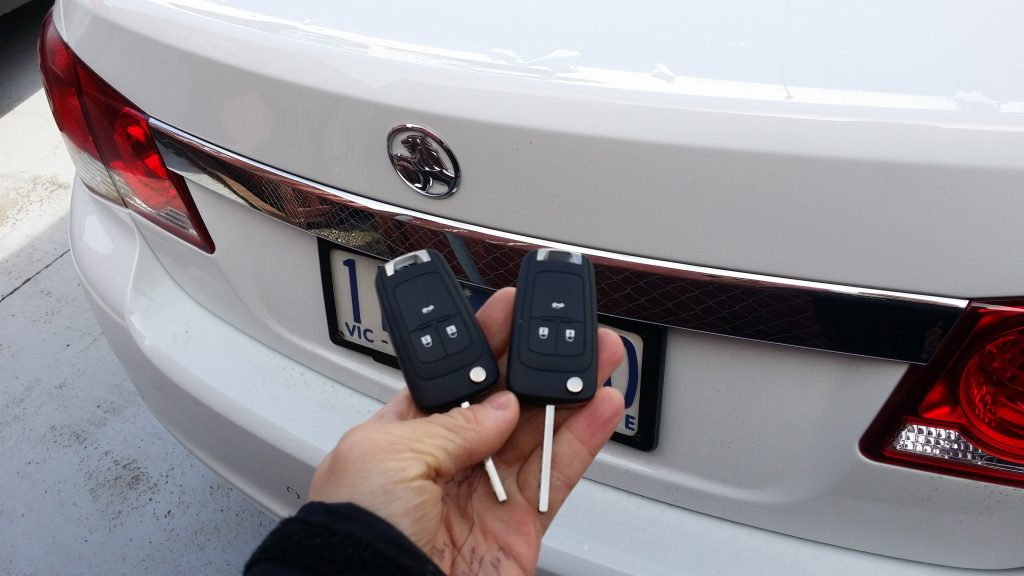Holden Cruze 2016 Remote Key Replacement Melbourne