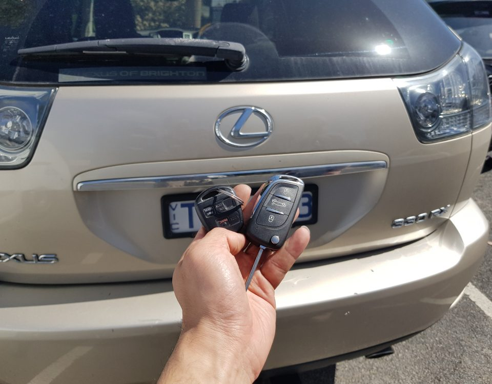 lexus rx330 key replacement