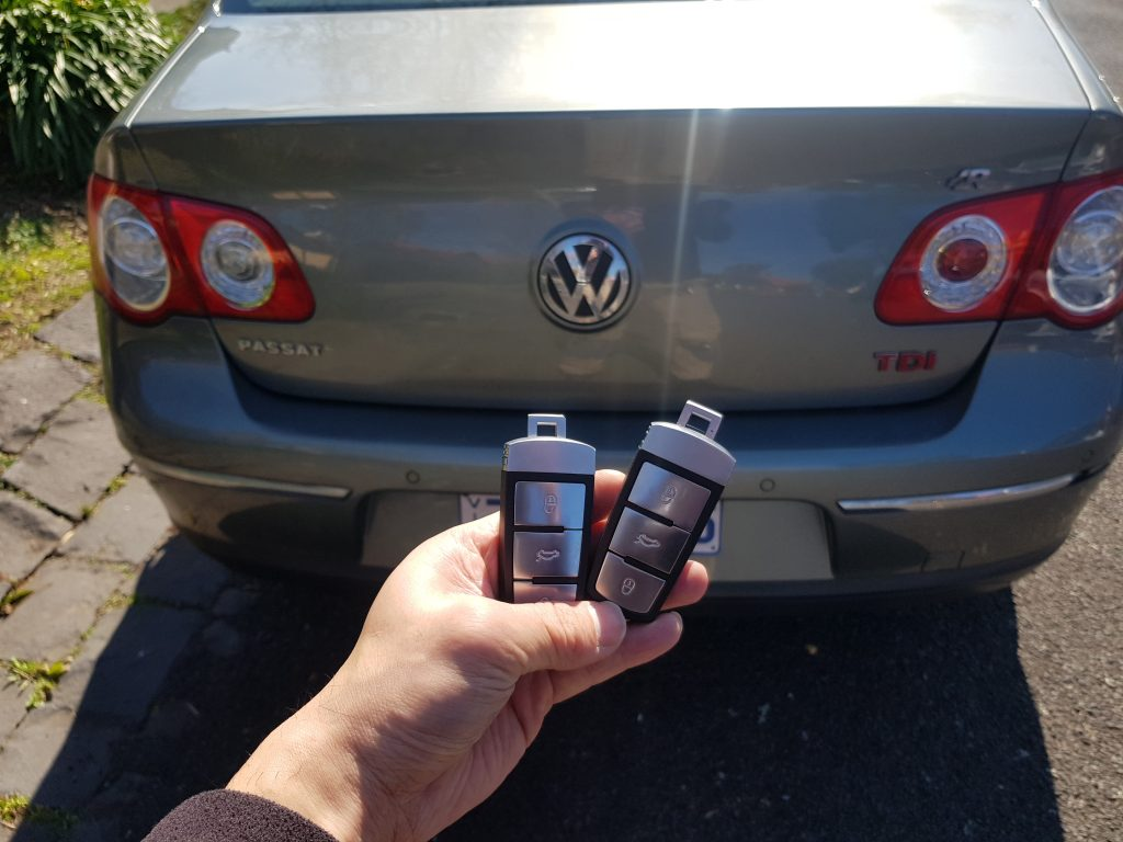 Vw Passat 2009 Misplaced Key Replacement Melbourne