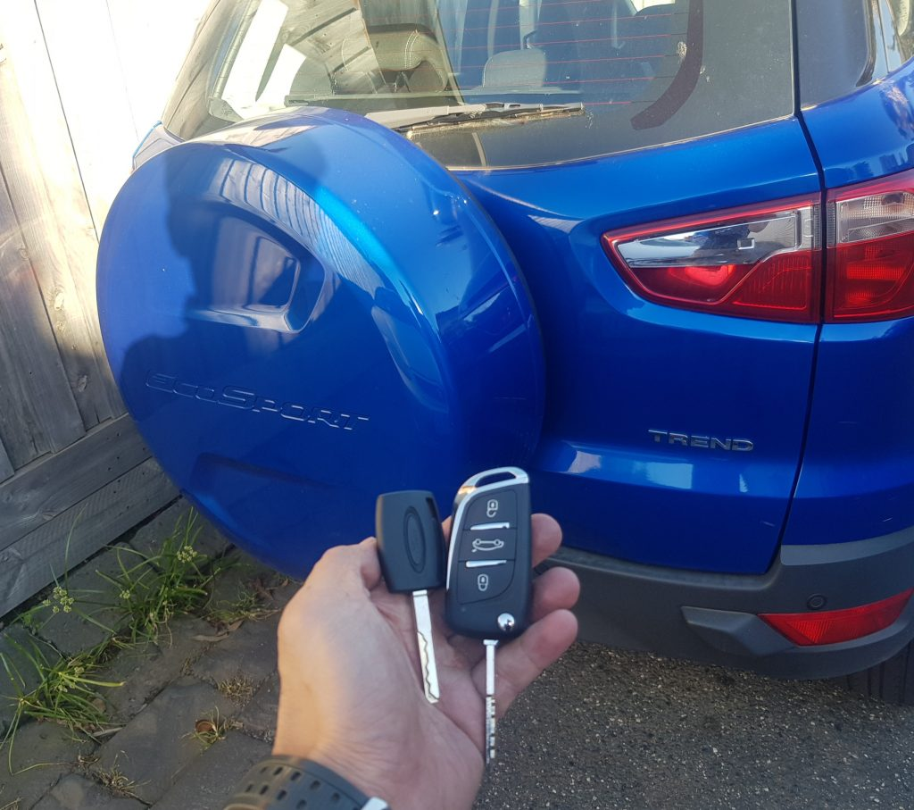 Ford Ecosport 2014 Remote Key Replacement Melbourne