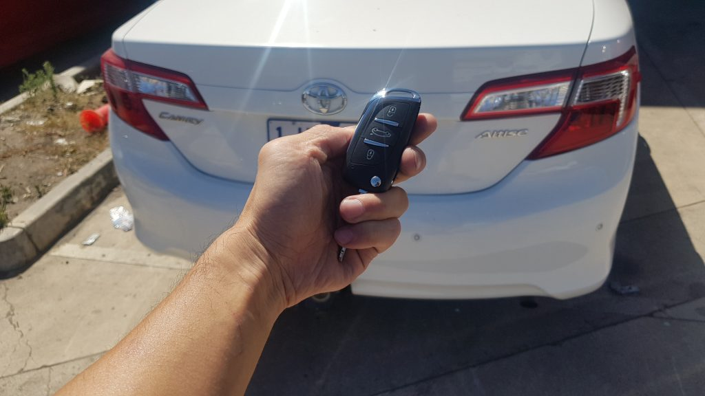 Toyota Camry 2014 Remote Key Replacement Melbourne