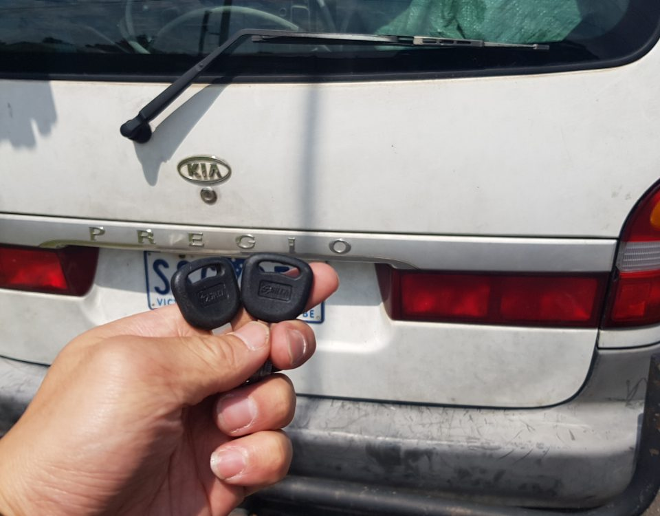 Kia Rio 2008 Lost Car Key Replacement Melbourne Sls Auto Locksmiths