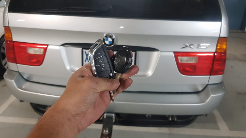 Bmw X5 2003 Remote Key Replacement Melbourne