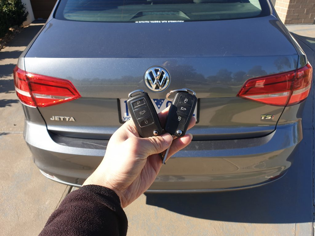 Vw Jetta 2015 Remote Key Replacement Melbourne