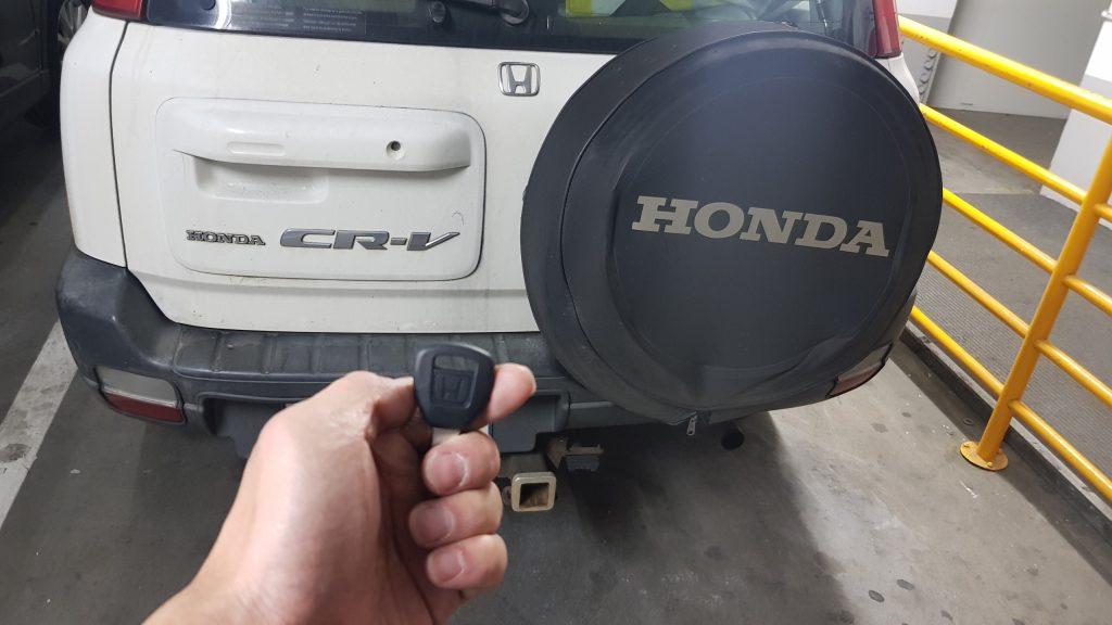 Honda Crv 1999 Key Replacement Melbourne